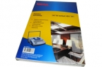 Обложки для переплета картонные ProMega Office белые, лен, A4, 250 г/м2, оптом