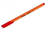 """Ручка капиллярная Berlingo """"Rapido"""" красная, 0.4 мм, трехгранная оптом"""