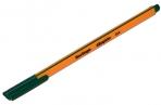 """Ручка капиллярная Berlingo """"Rapido"""" зеленая, 0.4 мм, трехгранная оптом"""
