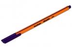 """Ручка капиллярная Berlingo """"Rapido""""фиолетовая, 0.4 мм, трехгранная оптом"""