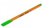 """Ручка капиллярная Berlingo """"Rapido"""" светло-зеленая, 0.4 мм, трехгранная оптом"""