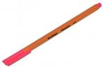 """Ручка капиллярная Berlingo """"Rapido"""" розовая, 0.4 мм, трехгранная оптом"""