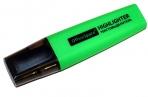 Текстовыделитель OfficeSpace зеленый 1-5мм оптом