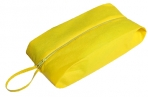 Сумка для обуви, отдел на молнии, цвет жёлтый оптом