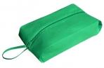 Сумка для обуви, отдел на молнии, цвет зеленый оптом