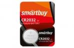 Батарейка SmartBuy CR2032 литиевая, BC5 оптом