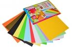 Цветная бумага A4, ArtSpace, 12л., 12цв., тонированная, в папке оптом