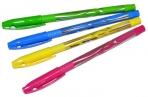 "Ручка шар синяя, 0, 7мм, корпус ассорти, Berlingo""Blitz Pro"", оптом"