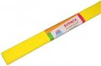 Бумага крепированная ArtSpace, 50*200см, 30г/м2, желтая (лимонная), в рулоне оптом