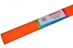 Бумага крепированная ArtSpace, 50*200см, 30г/м2, оранжевая, в рулоне оптом