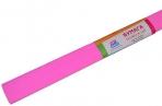 Бумага крепированная ArtSpace, 50*200см, 30г/м2, розовая, в рулоне оптом