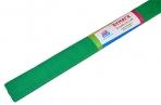 Бумага крепированная ArtSpace, 50*200см, 30г/м2, зеленая, в рулоне оптом