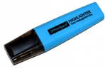 Текстмаркер голубой, 1-5мм, OfficeSpace оптом