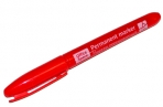 Маркер перм красный пулевидный, 1мм OfficeSpace оптом