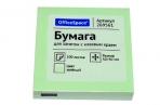 Блок самоклеящ 50*50 зеленый OfficeSpace, 100л., оптом