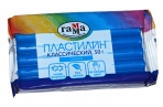 "Пластилин Гамма ""Классический"" синий, 50г оптом"