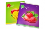 """Тетрадь 48клетка ArtSpace """"Фрукты. Colorful fruits"""" оптом"""