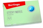 """Самоклеящийся блок Berlingo """"Standard"""", 76*51мм, 100л, зеленый оптом"""