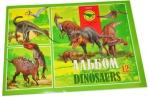 """Альбом для рисования 12л., А4, на скрепке Hatber""""Эра динозавров"""" оптом"""