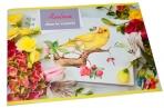 """Альбом для рисования 24л., А4, на скрепке BG """"Floral creativ"""", эконом оптом"""