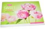 """Альбом для рисования 32л., А4, на скрепке ArtSpace""""Цветы. Sweet flower"""" оптом"""