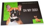 """Альбом для рисования 08л., А4, на скрепке ArtSpace """"Питомцы. Oh my dog"""", обложка-офсет оптом"""