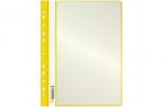 Папка с 10 вкладышами OfficeSpace, с перфорацией, 160 мкм, желтая оптом