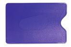 Обложка-карман для карт и пропусков ДПС 64*96мм, ПВХ, синий оптом