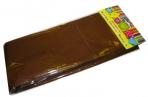Бумага коричневая крепированная 28591/10 плотностью 22 г/м2 (в упаковке 1 лист, размером 500x2500мм) оптом