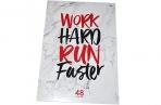 """Тетрадь А4 48клетка BG """"Work hard"""" оптом"""