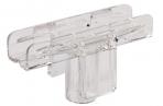Держатель рамки POS Т-образный, для сборки напольной стойки, для трубок диаметром 9мм, 290265 оптом
