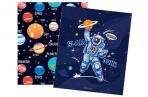 """Тетрадь 48л., А5, клетка ArtSpace """"Космос. Space missione"""" оптом"""