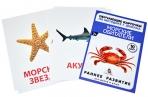 Обучающие карточки по методике Г. Домана «Морские обитатели», 10 карт, А6 оптом