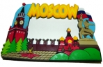 "Фоторамка-резина 5304, ""MOSCOW"", 7х4, 5см /30 /0 /300 оптом"