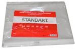 """Файл-вкладыш с перфорацией А4+ 30мкм """"Standart"""" ХАТБЕР 03130 оптом"""