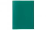 Папка с зажимом А4, 500 мкм, Calligrata, песок, зелёная оптом