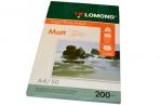 Фотобумага LOMOND д/струйной печати А4, 200г/м, 50л., двухсторонняя, матовая (0102033) оптом