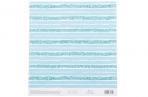 Бумага для скрапбукинга с клеевым слоем «Бирюзовая нежность», 20 ? 21, 5 см, 250 г/м оптом