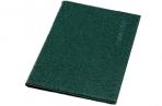 Обложка для паспорта, тиснение, цвет зелёный оптом
