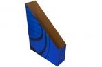 Лоток вертик гофро синий 75 мм оптом