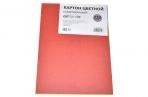 Картон цветной немелованный А5, 6 листов, 6 цветов, плотность 220 г/м?, ЭКОНОМ оптом