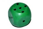 Кубик игральный 1. 5х1. 5х1. 5 см, цветной, зеленые оптом