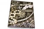 Тетрадь на кольцах 120л. BRAUBERG А5 175*215мм, кл., лам. карт., обл., Роскошь,  (2 вида), 402007 оптом