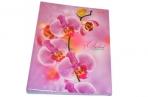 Тетрадь на кольцах, 120л., HATBER, ламин. обл., Розовая орхидея, 120ТК5В1_04374 (T159149) оптом