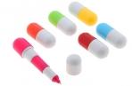 Ручка шариковая-прикол, «Капсула раздвижная», 12 см оптом