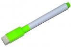 Маркер на водной основе с губкой 2х1, 5х11 см зелёный  4299386 оптом