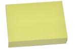 Блок с липким краем, 100 листов, 38 х 51 мм, Lamark, пастель жёлтая оптом