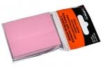 Блок с липким краем, 100 листов, 38 х 51 мм, Lamark, пастель розовая оптом