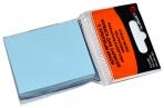 Блок с липким краем, 100 листов, 38 х 51 мм, Lamark, пастель голубая оптом