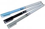 Ручка гелевая ПИШИ-СТИРАЙ стержень 0.5 мм синий, корпус МИКС Буквы  4528411 оптом